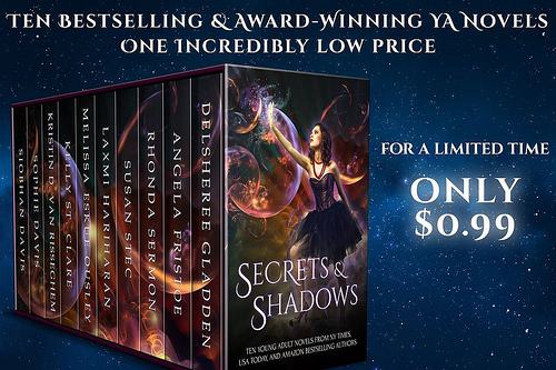 Secrets & Shadows sales graphic